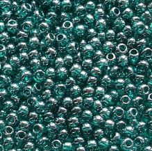 Toho 11/0 Seed Beads Transparent Teal Lustre 108BD - 10 grams